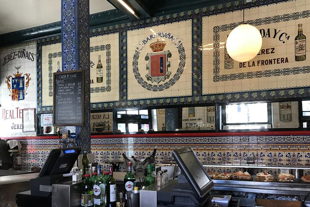 Pintxos Bilbao Café Iruña