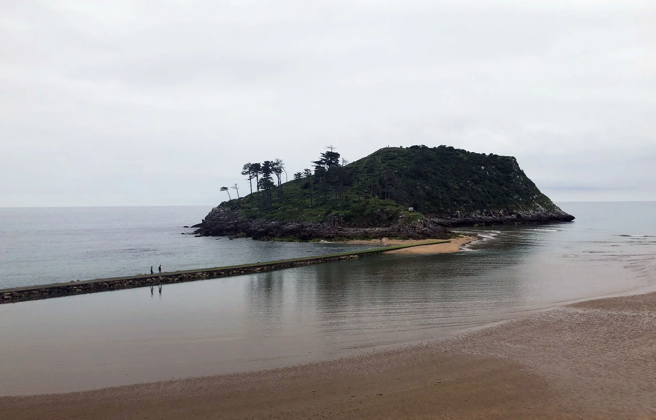 Isla de San Nicolás en Lekeitio